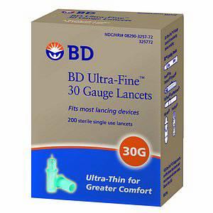 B-D Ultra-Fine  II Lancet