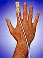 BCI Compatible Reusable SpO2 Finger Sensor