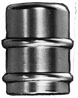 Bag Bushing Adapters - Chrome-Plated Brass