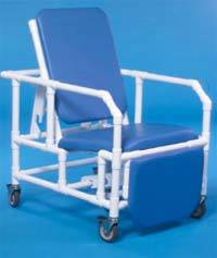 PVC Construction Bariatric Recliner Chair