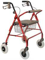 Bariatric 4-Wheeled Walker