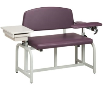 Bariatric, Blood Drawing Chair with Drawer