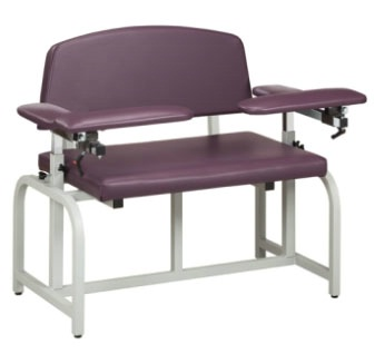 Bariatric, Blood Drawing Chair w/ Padded Arms