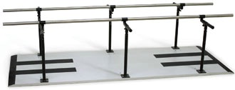 Bariatric Parallel Bars w/ Laminate Platform