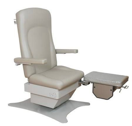 Bariatric Podiatry Chair w/ 3 Function Foot Control