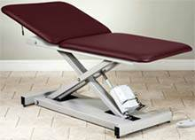 Extra Wide Bariatric Hi-Lo Table w/ Adjustable Backrest