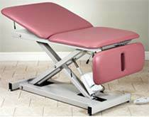 Bariatric Hi-Lo Table w/ Adjustable Backrest & Drop Section
