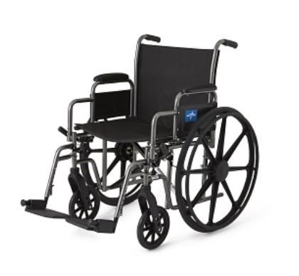 Basic Extra Wide Wheelchair, 20 in seat