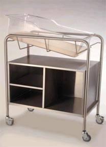 Bassinet w/ Open Cabinet