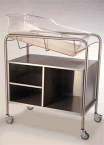 Bassinet Open Cabinet