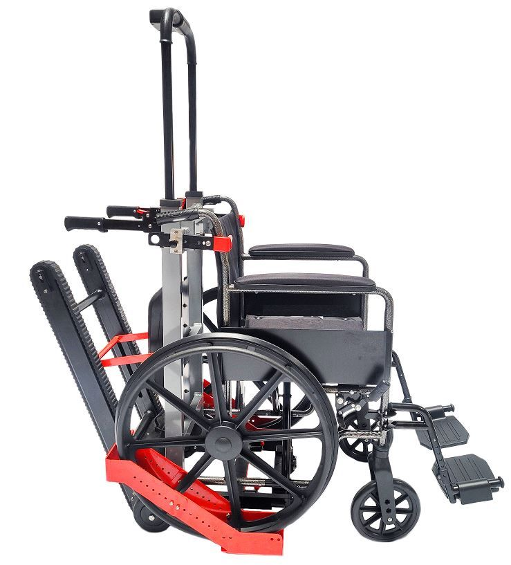 Battery Operated Climbing Trolley for Wheelchairs, QUICK SHIP