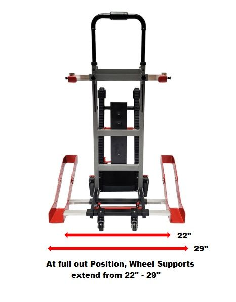 Battery Operated Stair Climbing Trolley for Wheelchairs