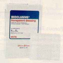 Bioclusive Transparent Dressing, Sterile - 8 in. x 10 in.