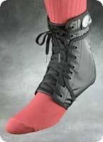 Black Ankle Brace Medium