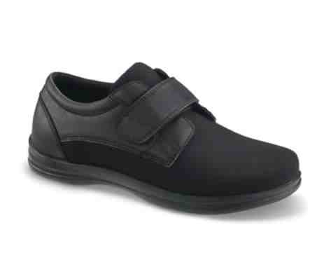 Black Diabetic Shoes