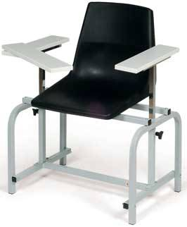Phlebotomy Chair w/ Interchangeable Armrests