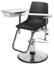 Blood Drawing Chair Hydraulic Adjustable