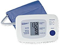 Quick Response Blood Pressure Monitor w/ Easy Cuff - Large