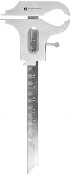 Boley Millimeter Gauge with Lock