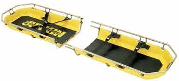 Break-Away Plastic Splint Stretcher