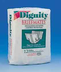 Briefmates Dignity Plus Beltless Undergarments