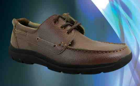 Brown Mens Lace Diabetic Nautica Boat Shoe