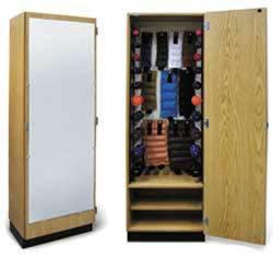 Accessorized Storage Cabinet