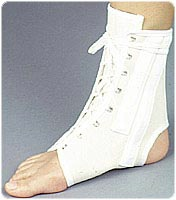 Canvas Ankle Splint with Stays - Large