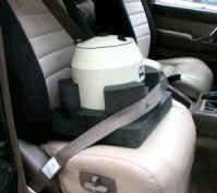 Car Seat for Portable Centrifuge