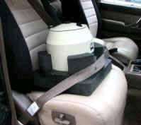 Car Seat for Portable Centrifuge