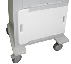 Basic Cardiac Board & Brackets for Aluminum Cart