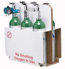 Carrier for M6 Oxygen Cylinders