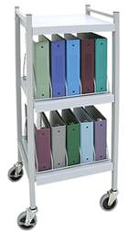 Chart Rack, 10 Binder Capacity
