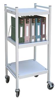 Chart Rack, 5 Binder Capacity