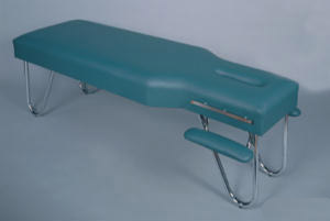 Chiropractic Adjustment Table with Arm Rest