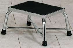Chrome Bariatrics Step Stool