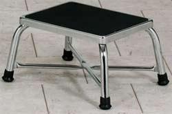 Chrome Bariatrics Step Stool & Heavy Duty Bariatric Steel Metal Foot Stools 2 Step Stool Handle islam-shia.org