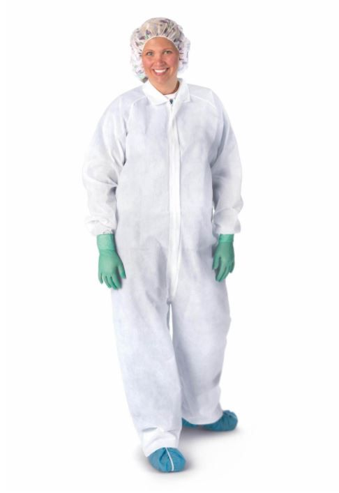 Classic Polypropylene Coveralls Open Ankle