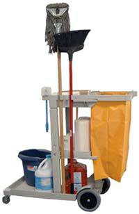 Cleaning Service Cart