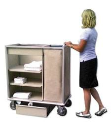 Clement Janitorial Cleaning Cart