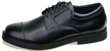 Comfortable Cap Toe Leather Shoes for Men