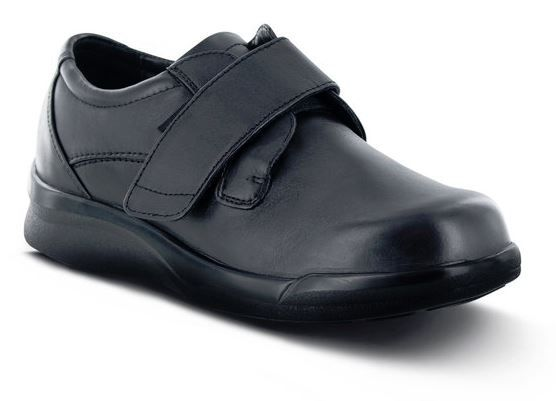 Comfortable Black Double Strap Shoes