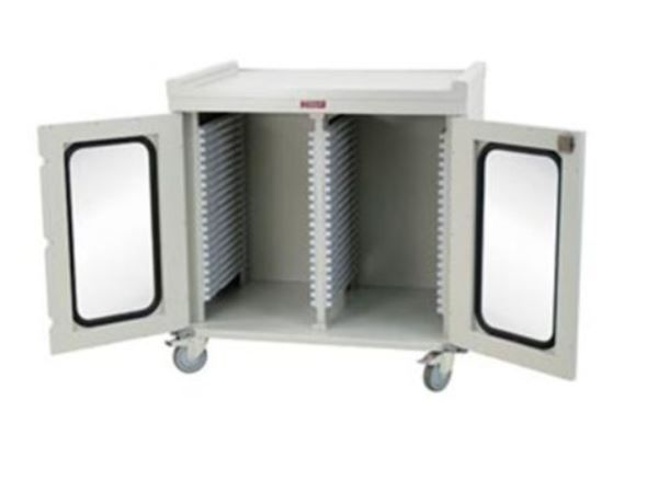 Compact Double Column Medical Storage Cabinet