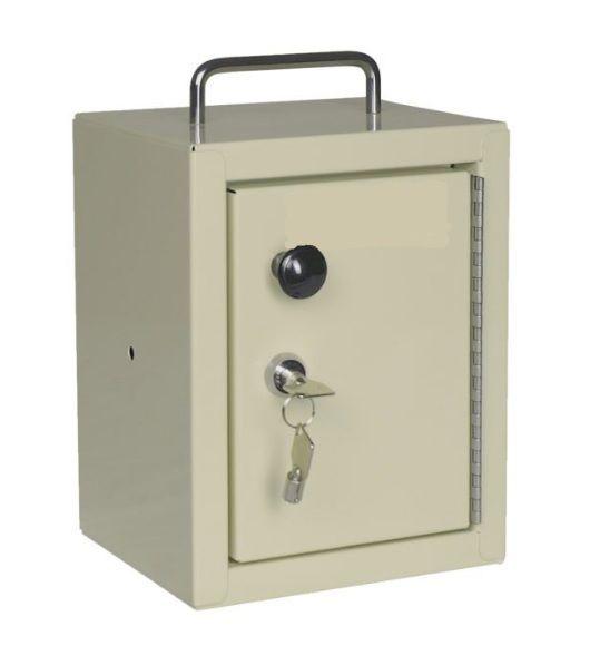 Compact Locking Narcotics Box Single Door