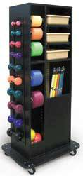 Compact Weight Rack w/ Accessories