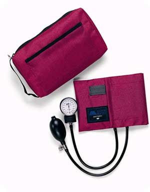 CompliMates Aneroid Sphygmomanometers Red