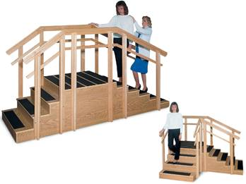 Convertible Rehab  Physical Therapy Staircase