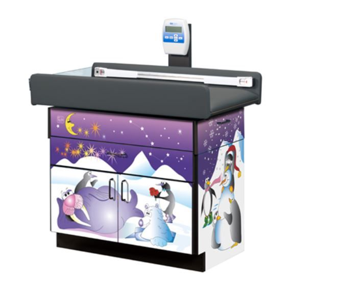 Cool Pals Pediatric Digital Scale Table