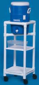 PVC Refreshment Cart w/ 5-Gallon Cooler