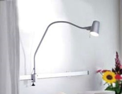 Cosy Task Light w/ Rail Mount